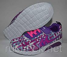Детские текстильные кроссовки для девочки. ТМ YTOP 48-18