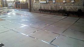 Монтаж теплої підлоги у церкві с.Підмихайля (Калуський р-н) 9