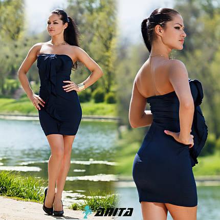Д276 Коктейльное платье, фото 2