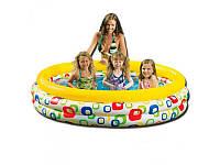 Детский надувной бассейн Intex 58449 «Сказочное море»