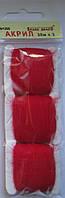 Акрил для вышивки: красно-вишнёвый, фото 1