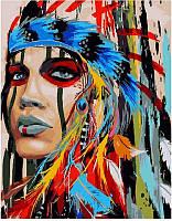 Картина по номерам Абориген, 40x50 см, подарочная упаковка, Brushme (Брашми)