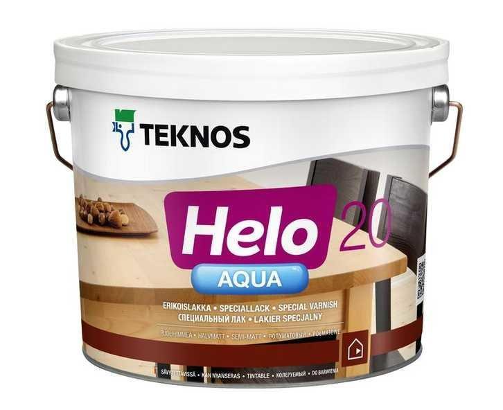 Лак водорозчинний універсальний Teknos Helo Aqua 20 9 л