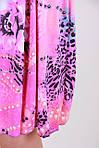 Короткий летний сарафан для прогулок с красивым принтом, фото 3