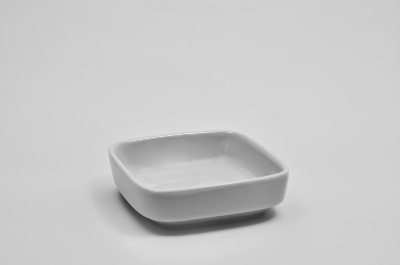 Салатник квадратной формы