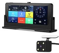 PIoneer OHREX T807 4G ультратонкий навигатор GPS, Регистратор, Андроид 5.0, Автопланшет,  камера заднего вида