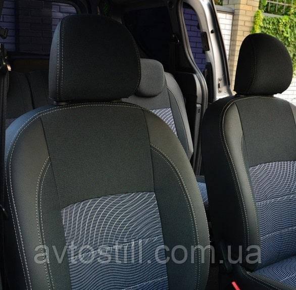 Чехлы на сидения автомобиля Renault Dokker (2012 по сегодня)