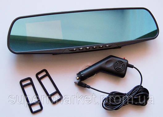 """DVR 138E Автомобильный видеорегистратор зеркало заднего вида, экран 3.6"""", фото 2"""
