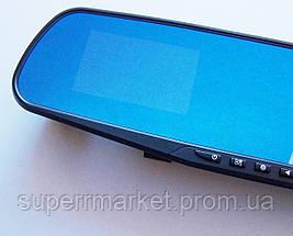 """DVR 138E Автомобильный видеорегистратор зеркало заднего вида, экран 3.6"""", фото 3"""