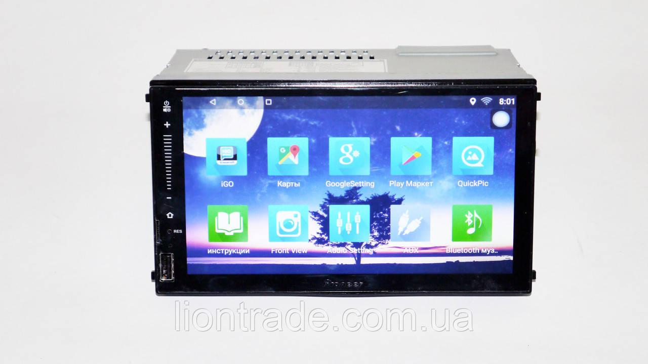 1din Pioneer FY6521 GPS+4Ядра+16Gb ROM+1Gbb RAM+Adnroid