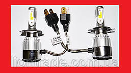 C6 Светодиодный БиКсенон H4 LED 36W 12V 3800K