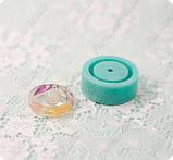 Силиконовый молд для эпоксидной смолы на кольцо 15,75-16,25-17 и мини-шарик на 8мм., фото 2