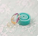 Силиконовый молд для эпоксидной смолы на кольцо 15,75-16,25-17 и мини-шарик на 8мм., фото 3