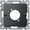 Накладка для аудио-штекера XLR, антрацит Shneider Merten (MTN468914)