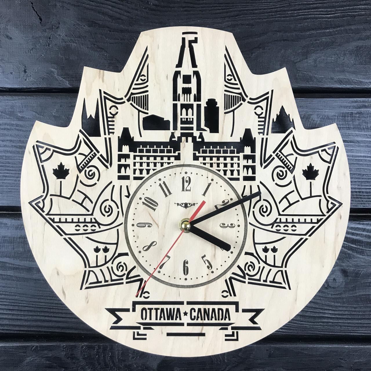 Интерьерные часы на стену «Оттава, Канада»