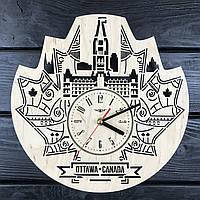 Интерьерные часы на стену «Оттава, Канада», фото 1
