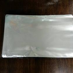 Кульки прозрачные для упаковки 50*30 см 100 шт.