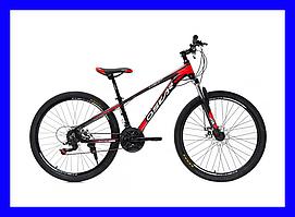 """Велосипед Oskar Piranha (Черно-Красный) 26"""""""