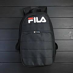 Рюкзак Fila. Черный. Прочная, водооталкивающая ткань
