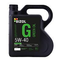 Моторное синтетическое масло BIZOL Green Oil 5W-40 4л