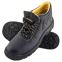 Ботинки кожаные с металлическим под носком REIS BRYES-T-SB