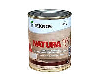 Лак водорозчинний панельний Teknos Natura 15 0.9 л