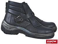Ботинки кожаные для сварщика с металлическим подноском REIS BRHOT