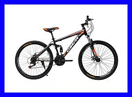"""Велосипед Oskar Warship (Черно-Оранжевый) 26""""/15.5"""