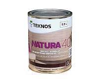 Лак водорозчинний панельний Teknos Natura 40 0.9 л