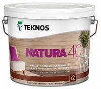 Лак водорозчинний панельний Teknos Natura 40 2.7 л
