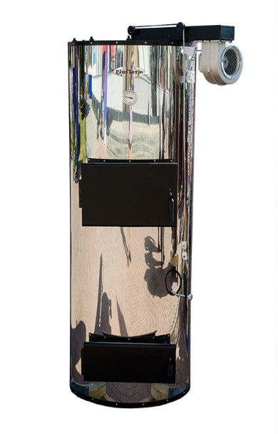"""Универсальные твердотопливные котлы комбинированного типа """"PlusTerm Хром"""" (ПлюсТерм) 18кВт"""