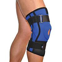 Бандаж коленного сустава с ребрами жесткости неопреновый Алком 4022, р.1, р.2, р.3, р.4
