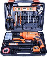 Мультифункциональный набор инструментов для монтажа с дрелью, 36 пр. Harden Tools 510836