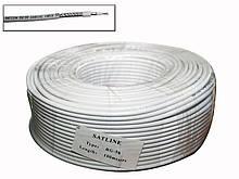 RG-58 Satline білий (19*0.81 Cu+96*0.1 Cu) 100м