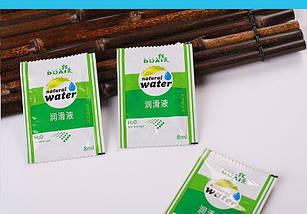 Смазка лубрикант Dual 8мл Natural Water вагинальная анальная, фото 3