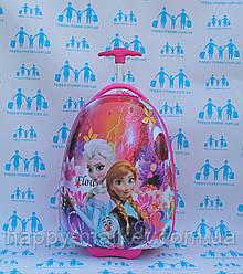 Детские чемоданы для девочки розовые качество Люкс Josepf Ottenn Frozen Холодное сердце 2966-2\16-JDX-47