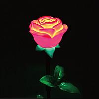 Led  цветок Noblest Art  для праздничных дисплеев, световых шоус изменением цвета 11*35 см (LY3077)