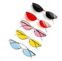 Солнцезащитные очки Fendi ободковые