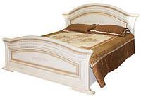 Кровать 2-сп.1.6  Николь (патина)