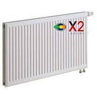 Стальной панельный радиатор c нижним подключением Kermi FTV 22 500*1100