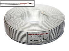 RG-58 Vector белый (1*0.81+96*0.1) 100м