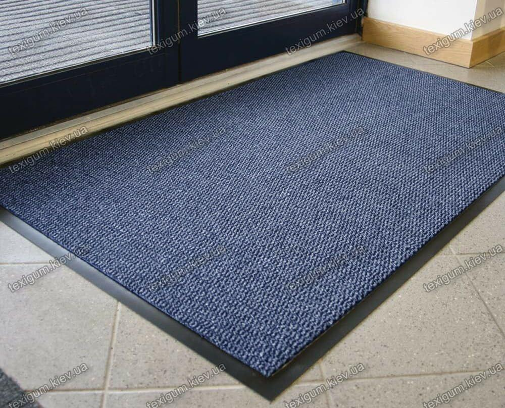 Ковер грязезащитный Стандарт 120х150см. синий