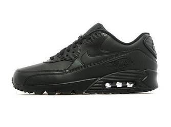 Мужские кроссовки NIKE AIR MAX 90 'TRIPLE BLACK' (Реплика ААА+)