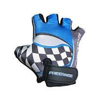 Велоперчатки детские Freerace FC-1000 (размер 4) Blue, фото 1