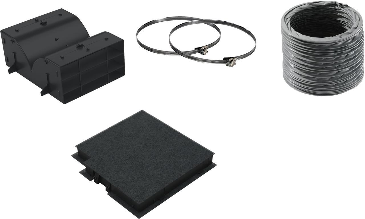 Комплект для работы вытяжки в режиме рециркуляции Bosch DWZ0DX0U0