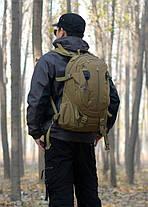 Рюкзак Тактический Штурмовой Военный Туристический PROTECTOR PLUS S412 на 35л Оливковый  (P412-3), фото 2