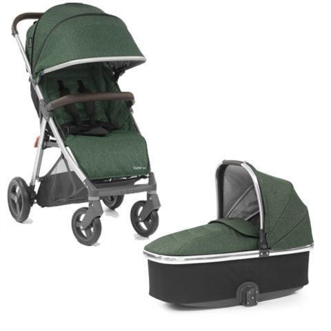 Унивесальная коляска 2 в 1 BabyStyle Oyster Zero / Alpine Green