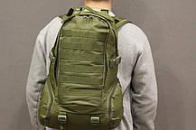 Рюкзак Военный Тактический Штурмовой Туристический PROTECTOR PLUS S416 на 30л Мультикам (S416-5), фото 2