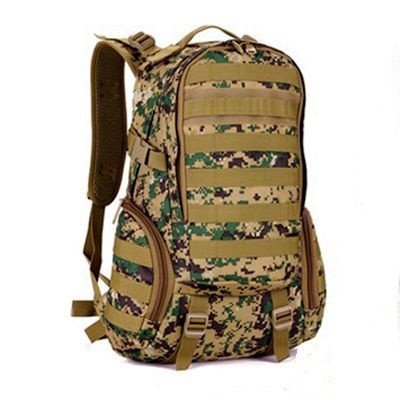 Туристический Тактический Штурмовой Военный Рюкзак PROTECTOR PLUS S416 на 30л Пиксель Хаки (S416-6)