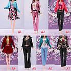Кукольный костюм штаны, майка и пиджак для куклы Барби, фото 2